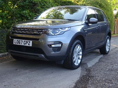 Land Rover Discovery Sport SUV 2.0 Si4 SE Tech Auto 4WD (s/s) 5dr
