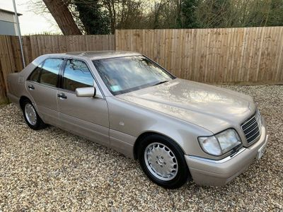 Mercedes-Benz S Class Saloon S320 3.2 AUTO, 53,800 MILES FROM NEW