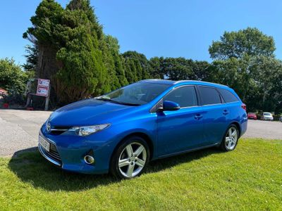 Toyota Auris Estate 1.6 V-Matic Excel M-Drive S 5dr