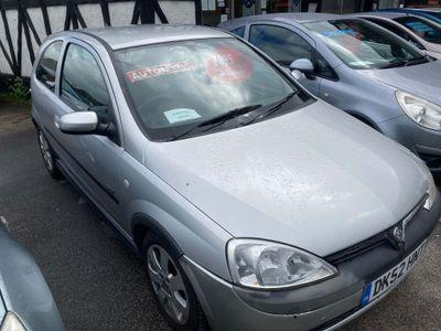 Vauxhall Corsa Hatchback 1.2 i 16v SXi Easytronic 3dr