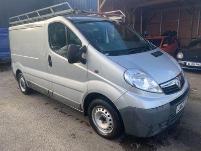 Vauxhall Vivaro Panel Van 2.0 CDTi 2700 Panel Van 4dr (SWB, EU5)