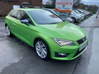 SEAT Leon Hatchback 2.0 TDI FR (Tech Pack) SportCoupe (s/s) 3dr