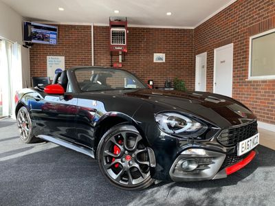 Abarth 124 Spider Convertible 1.4 MultiAir Spider Auto 2dr