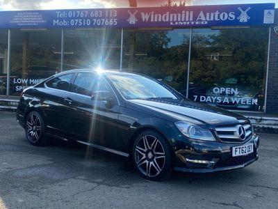 Mercedes-Benz C Class Coupe 2.1 C220 CDI BlueEFFICIENCY AMG Sport Plus 7G-Tronic Plus 2dr