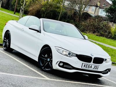 BMW 4 Series Convertible 3.0 435i Luxury Auto 2dr