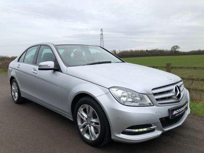 Mercedes-Benz C Class Saloon 2.1 C220 CDI BlueEFFICIENCY SE (Executive) 7G-Tronic Plus 4dr (Map Pilot)
