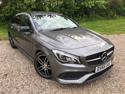 Mercedes-Benz CLA Class Estate 2.1 CLA220d AMG Line Shooting Brake 7G-DCT (s/s) 5dr