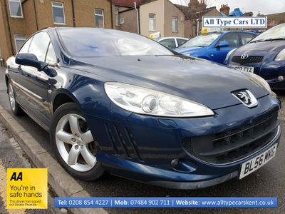 Peugeot 407 Coupe 2.2 S 2dr