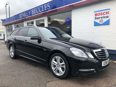 Mercedes-Benz E Class Estate 2.1 E250 CDI BlueEFFICIENCY Avantgarde G-Tronic 5dr