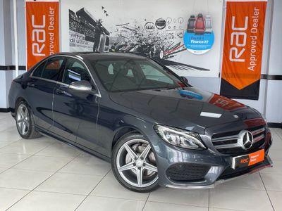 Mercedes-Benz C Class Saloon 2.1 C220 CDI BlueTEC AMG Line G-Tronic+ (s/s) 4dr