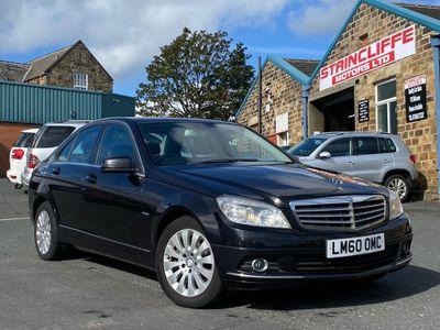 Mercedes-Benz C Class Saloon 2.1 C220 CDI BlueEFFICIENCY Elegance 4dr