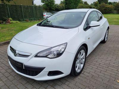 Vauxhall Astra GTC Coupe 1.7 CDTi ecoFLEX Sport (s/s) 3dr