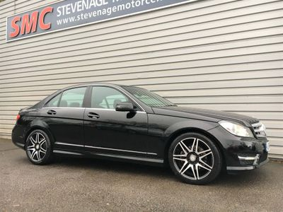 Mercedes-Benz C Class Saloon 2.1 C250 CDI BlueEFFICIENCY AMG Sport Plus 7G-Tronic Plus 4dr
