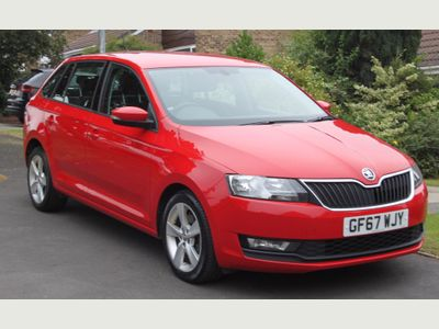 SKODA Rapid Spaceback Hatchback 1.6 TDI CR SE Tech Spaceback (s/s) 5dr