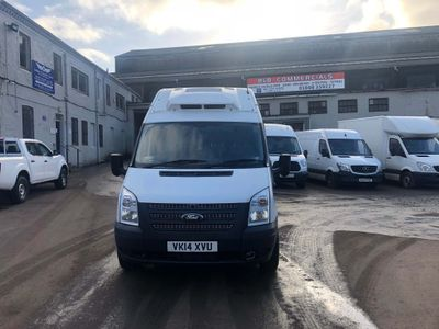Ford Transit Temperature Controlled 350 Lwb Temperature Control