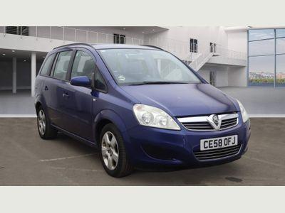 Vauxhall Zafira MPV 1.6 Exclusiv 5dr