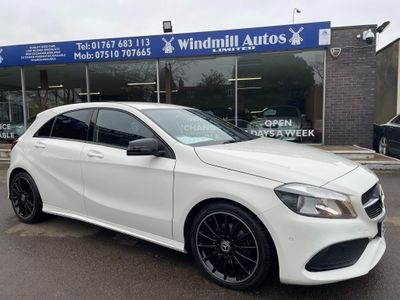 Mercedes-Benz A Class Hatchback 1.6 A160 AMG Line (Executive) 7G-DCT (s/s) 5dr