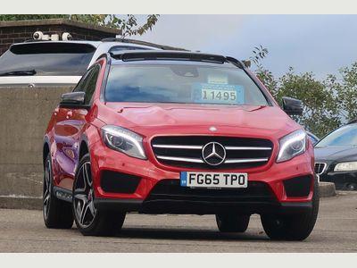Mercedes-Benz GLA Class SUV 2.1 GLA200 AMG Line (Premium Plus) (s/s) 5dr
