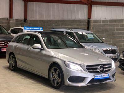 Mercedes-Benz C Class Estate 2.1 C220d AMG Line (Premium Plus) 7G-Tronic+ (s/s) 5dr