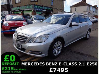Mercedes-Benz E Class Estate 2.1 E250 CDI BlueEFFICIENCY SE 7G-Tronic Plus (s/s) 5dr