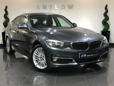 BMW 3 Series Gran Turismo Hatchback 2.0 318d Luxury GT (s/s) 5dr
