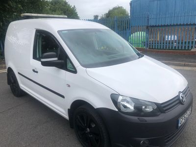 Volkswagen Caddy Panel Van 1.6 TDI BlueMotion Tech C20 Startline Panel Van DSG 4dr
