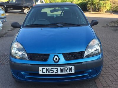 RENAULT CLIO Hatchback 1.2 Authentique 5dr