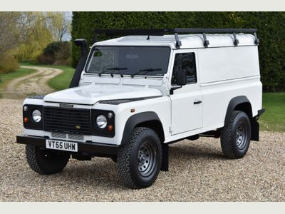 Land Rover Defender 110 Panel Van TD5 Hard Top