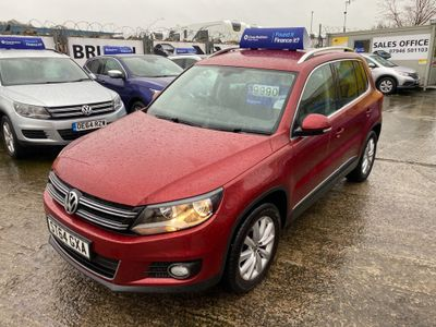 Volkswagen Tiguan SUV 2.0 TDI BlueMotion Tech Match 2WD (s/s) 5dr