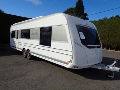 LMC 695 Vip Exquisit Tourer TAKING ORDERS FOR EARLY 2022,5 BERTH,FIXED ISLAND BED WITH SEPARATE TOILET/SHOWER CUBICLE.