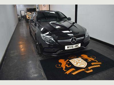 Mercedes-Benz C Class Saloon 4.0 C63 V8 BiTurbo AMG S (Premium) SpdS MCT (s/s) 4dr