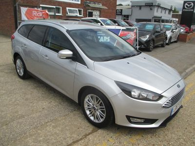 Ford Focus Estate 1.0T EcoBoost Zetec Edition Auto (s/s) 5dr