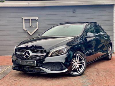 Mercedes-Benz A Class Hatchback 2.1 A200d AMG Line (Premium Plus) (s/s) 5dr