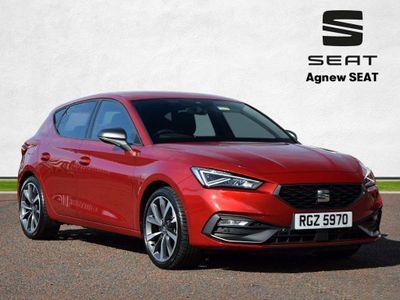 SEAT Leon Hatchback 1.5 eTSI MHEV FR First Edition DSG (s/s) 5dr