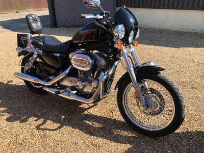 Harley-Davidson Sportster Custom Cruiser 883 XL Sportster Roadster
