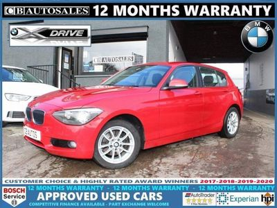 BMW 1 Series Hatchback 2.0 120d SE Sports Hatch xDrive (s/s) 5dr