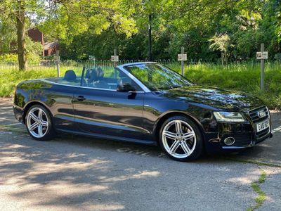 Audi A5 Cabriolet Convertible 2.0 TFSI S line Cabriolet Multitronic 2dr