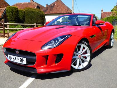 Jaguar F-Type Convertible 3.0 V6 Supercharged 2dr