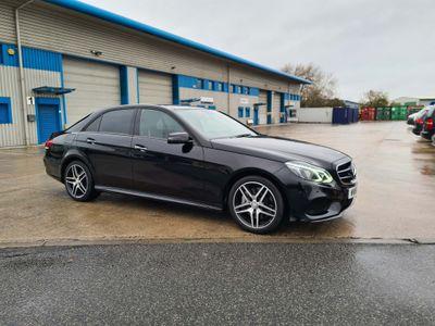 Mercedes-Benz E Class Saloon 3.0 E350 CDI BlueTEC AMG Night Edition (Premium Plus) 9G-Tronic Plus 4dr