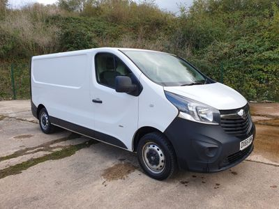 VAUXHALL VIVARO Temperature Controlled {Edition unlisted}