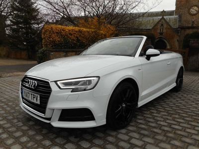 Audi A3 Cabriolet Convertible 2.0 TDI S line Cabriolet (s/s) 2dr