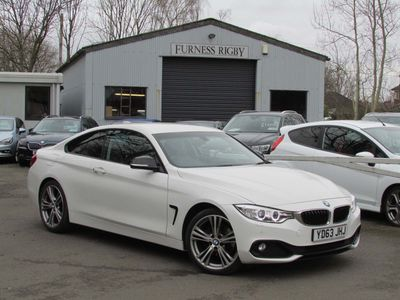 BMW 4 Series Coupe 2.0 420d Sport 2dr