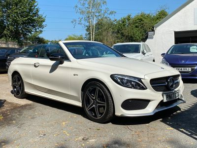 Mercedes-Benz C Class Convertible 3.0 C43 V6 AMG Cabriolet G-Tronic+ 4MATIC (s/s) 2dr