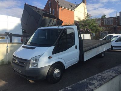 Ford Transit Dropside dropside 12foot alloy one stop body