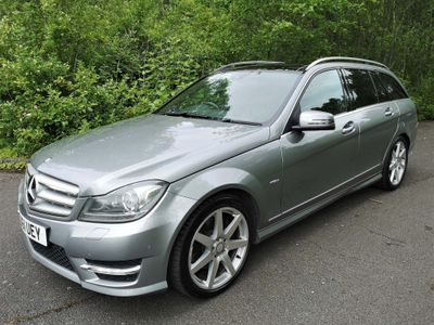 MERCEDES-BENZ C CLASS Estate 3.0 C350 CDI BlueEFFICIENCY Sport Edition Edition 125 G-Tronic 5dr