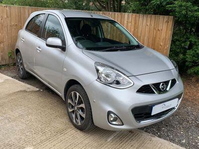 Nissan Micra Hatchback 1.2 n-tec 5dr