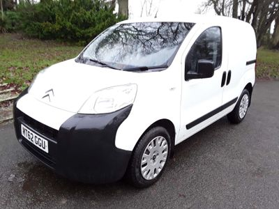 Citroen Nemo Panel Van 1.3 HDi 16v 660 Enterprise Special Edition Panel Van 3dr Diesel Manual (119 g/km, 75 bhp)