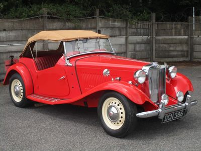 MG TD Unlisted