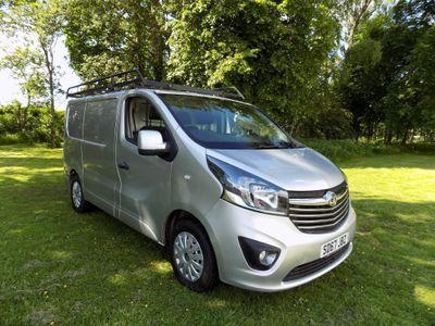 Vauxhall Vivaro Panel Van 1.6 CDTi 2700 BiTurbo ecoTEC Sportive L1 H1 EU6 (s/s) 5dr
