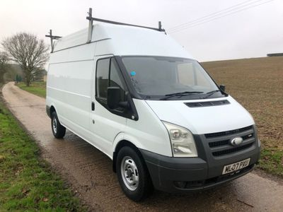 Ford Transit Panel Van 2.4 TDCi 350 High Roof Duratorq LWB 3dr